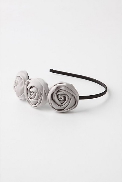 anthropologie rosette headband