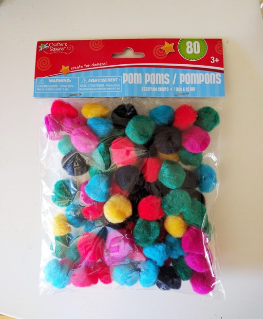 Dollar Tree Finds Mrs Priss Pom Poms