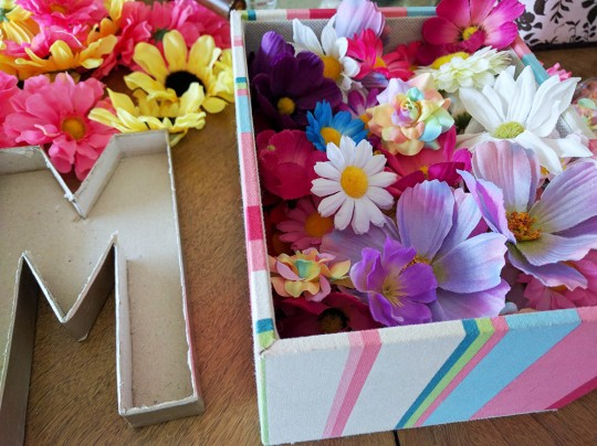 Floral Letter DIY by Mrs Priss Flower Collection