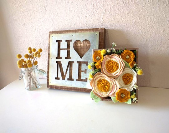Mrs Priss DIY Flower Box Repurpose Display
