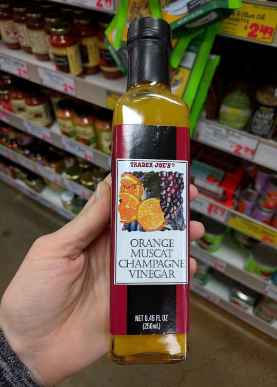 Trader Joes Orange Muscat Champagne Vinegar