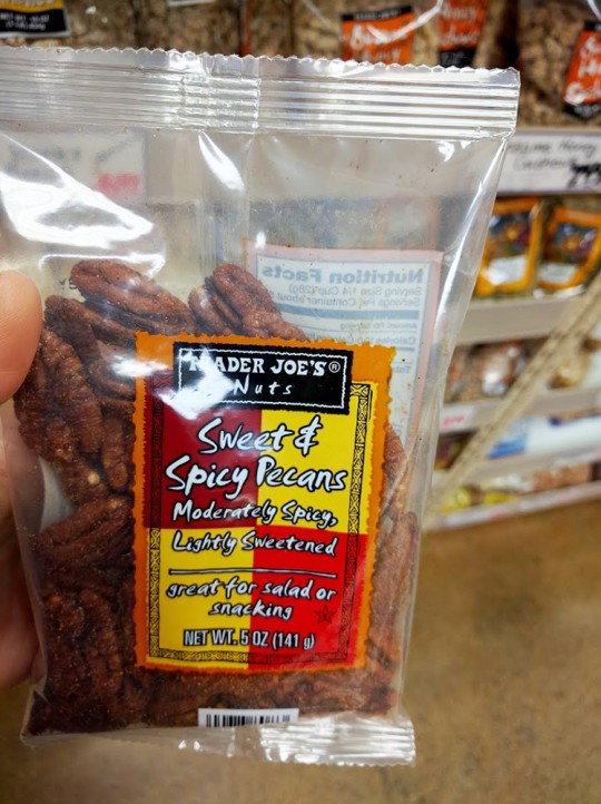 Trader Joes Sweet and Spicy Pecans