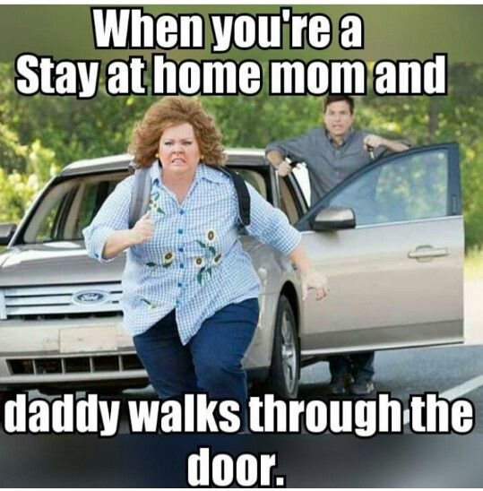 dad walks in