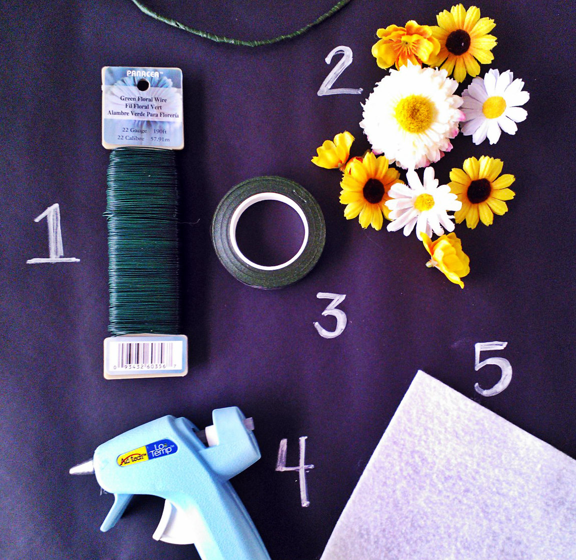 Tutorial flower crown motherhood craftiness other lovely supplies you will need izmirmasajfo