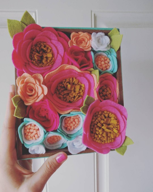 mrspriss creative process flower box
