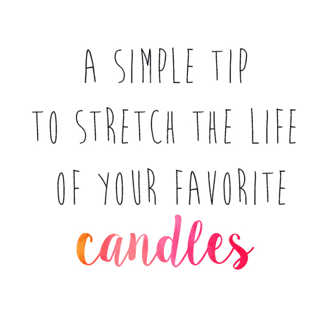 stretch candle header